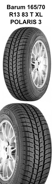 Barum 165/70 R13 83 T XL POLARIS 3